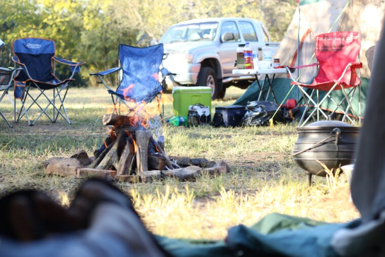 日中キャンプ